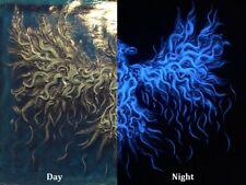 Luminous Day/Night Light Phoenix Signed Wall Art Plaque HAND MADE Sculpture