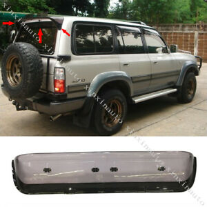 Rear Spoiler Sun Rain Visor Window Shield For Toyota Land Cruiser LC80 FJ80 4500