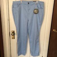 Avenue Denim Jeans 24 Average Light Blue Butter Denim Skinny NWT