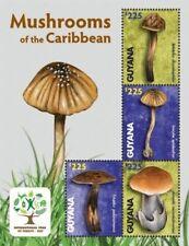 Guyana - 2012 - Mushrooms Of The Caribbean - Sheet 4 - MNH