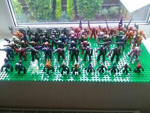 halo mega bloks mini figures 62 some with weapon