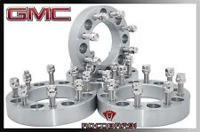 """1999-2010 GMC Sierra 2500 3500 1"""" Thick Wheel Spacers Adapters 8x6.5 To 8x6.5"""