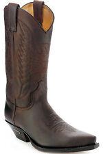 2073 Bottes brune Sendra bottes boots western