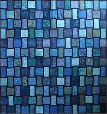 Blue Moon Quilt Kit, Blue Underground Studios, DIY Quilting Batik