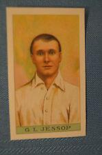 1912 Reeves Chocolates Cricket Prints by County Print 1993 - G.J. Jessop.