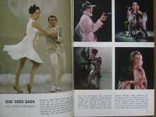 NOV, 1964 TV Guide(LESLIE CARON/LAURA GREENE/LES CRANE/MICHAEL BURNS/WAGON TRAIN