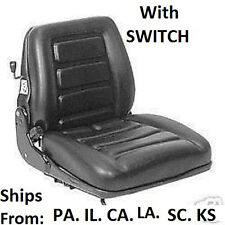 SUSPENSION FORKLIFT SEAT LIFT TRUCK FORK LIFTTRUCK CLARK UNIVERSAL CAT HYSTER