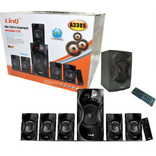 KIT DOLBY LINQ A3305 SURROUND 5.1 HOME THEATRE USB SD FM BLUETOOTH