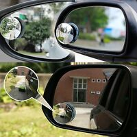 Clear Car Rear View 360 Rotating Safety Wide Angle Blind Spot Mirror Parking AU