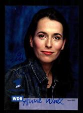 Anne Will Autogrammkarte Original Signiert # BC 93934