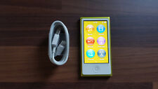 Apple iPod nano 7th Generation Yellow (16GB) with Accessories