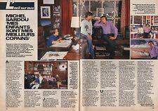 Coupure de presse Clipping 1987 Michel Sardou  (2 pages)