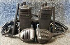 Motorola XPR6350 VHF Digital DMR 32 Chan Set of 2 Radios w Mic Buy 1 to 5 Sets
