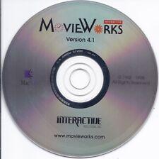 vintage software - MovieWorks Mac Cd