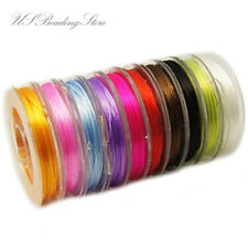 10Rolls Mixed Strong Stretchy Beading Elastic Wire 0.8mm Wires Beading Jewelry
