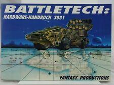 """Fasa Battletech """" Hardware Manuale 3031 """" (Fanpro) 102002005"""