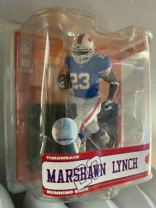 New McFarlane Series 15 Marshawn Lynch Buffalo Bills Blue Jersey