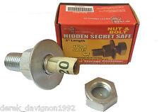 Nut and Bolt Fake Diversion Safe Stash Compartment - Hide Cash Money Pills Stash