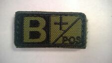 Condor Blood Type Hook-Back Patches (B+) OD 2 each