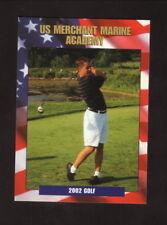 Merchant Marine Mariners--2002 Golf Pocket Schedule