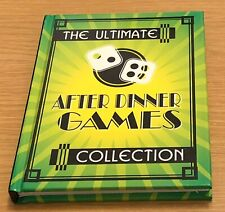THE ULTIMATE AFTER DINNER GAMES COLLECTION Jenny Lynch Book (Hardback) NEW