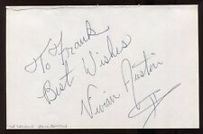 Vivian Austin Signed HUGE 8x5 Inch Page Autographed Photograph Vintage Signature
