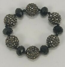 Chuns Fashion Womens Bracelet Black Gray  Bangle Beads Elastic Jewelery