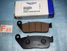 2 plaquettes de frein TRIUMPH TIGER 885 / 955 LEGEND TT AMERICA THUNDERBIRD