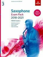 Saxophone Exam Pack 2018-2021, ABRSM Grade 3 Selected from the ... 9781786010292