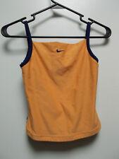 Nike Orange & Navy Blue Athletic Tank w/Mesh Back, sz S 4/6