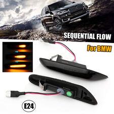 2x Dynamic LED Side Indicator Repeater Light For BMW E60 E81 E83 E87 E90 E92 E93