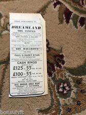 k2-6  ephemera 1966 advert margate paul barry ryan trendsetters alfie dreamland