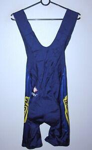 Vintage MG Maglificio Technogym cycling team bib shorts Nalini Size 5