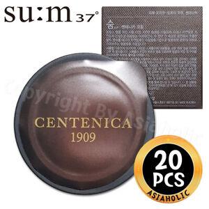 SU:M37 Centenica Cream 0.6ml x 20pcs (10Box) Premium Sample Sum37 Newist Version