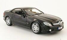 Maisto Mercedes-benz sl65 AMG Black series 2009 Rigide Noir 1:18