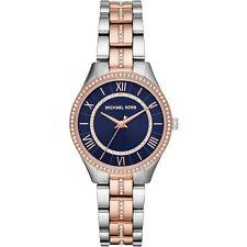 Orologio Michael Kors Mini Lauryn MK3929 DONNA watch BICOLORE ORO ROSA BLU