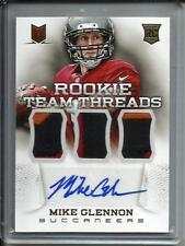 Mike Glennon 2013 Panini Momentum Autograph Game Used Jersey Patch Rookie #07/15