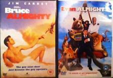 BRUCE & EVAN ALMIGHTY Jim Carrey*Jennifer Aniston*Steve Carell Comedy DVD *EXC*
