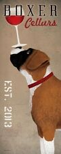 Boxer Cellars by Ryan Fowler Dog Print 8x20