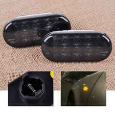 2pcs L/R Yellow Light LED Side Marker Light Lamp Fit For VW Jetta Bora Golf MK4