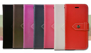 For Samsung Galaxy S 5 6 Edge Plus Magnetic Flip Wallet Leather Stand Case Cover