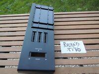 Parts Keyboard ROLAND 90' JV80 JV models LEFT Plastic corner VG CONDITION