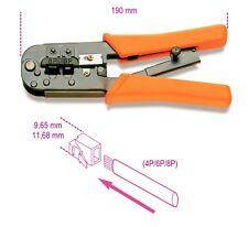 Beta TOOLS 1601/PC Trinquete Alicates que prensan para RJ11 RJ12 RJ45 CAT5 Cable Teléfono &