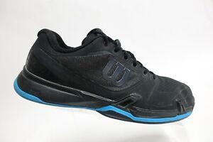 WILSON Rush Pro Black Sz 12 Men Tennis Sneakers