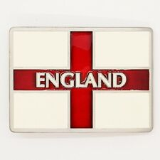 England St George's Cross Belt Buckle Patriotic Union Jack Flag UK seller