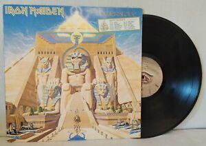 LP IRON MAIDEN POWERSLAVE 1984