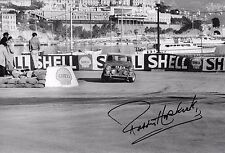 "Paddy Hopkirk SIGNED 12x8  Mini-Cooper S Monte Carlo Rally 1964  "" Winner """