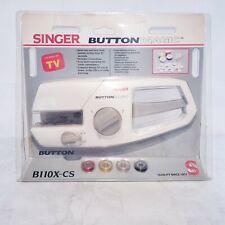 Singer B110X-CS Button Magic Handheld 2 and 4 Hole Maker