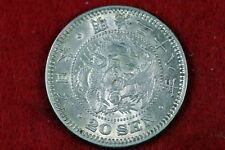 1905 - Japan 20 Sen Silver Coin Japanese Meiji Emperor Year 38!!  #H10561