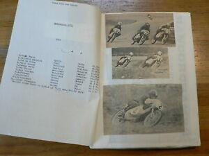 MOTO GP SWEDEN ANDERSTORP SCRAPBOOK WITH PICTURES & RESULTS 1971-78 SAARINEN,AGO